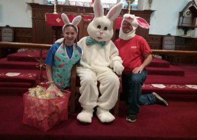 Easter Bunny and Helpers